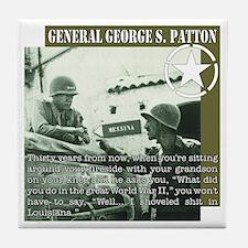 General G.S. Patton Tile Coaster