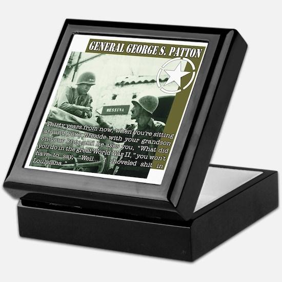 General G.S. Patton Keepsake Box