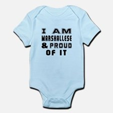 I Am Marshallese And Proud Of It Infant Bodysuit