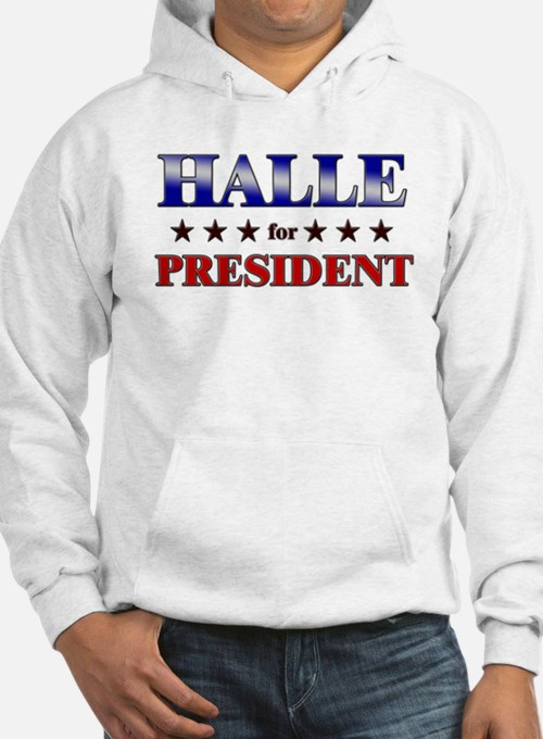 HALLE for president Jumper Hoody