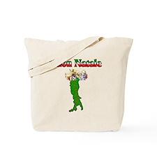 Buon Natale Italian Christmas Boot Tote Bag