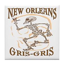 New Orleans Grsi Gris Tile Coaster