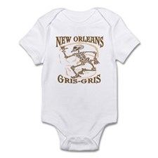 New Orleans Grsi Gris Infant Bodysuit