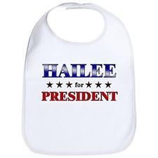HAILEE for president Bib