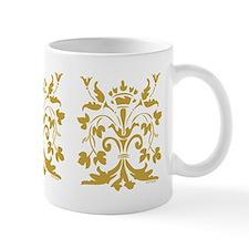 Fleur de lis Queen (gold) Mug