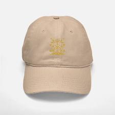 Fleur de lis Queen (gold) Baseball Baseball Cap