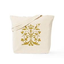 Fleur de lis Queen (gold) Tote Bag