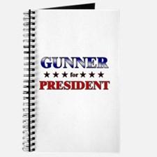GUNNER for president Journal