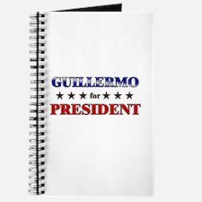 GUILLERMO for president Journal