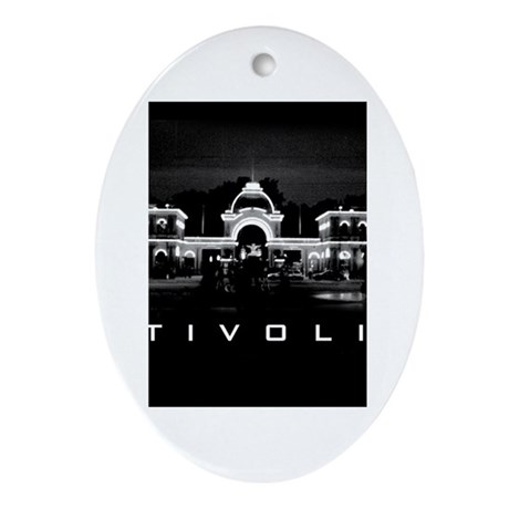 Tivoli Oval Ornament