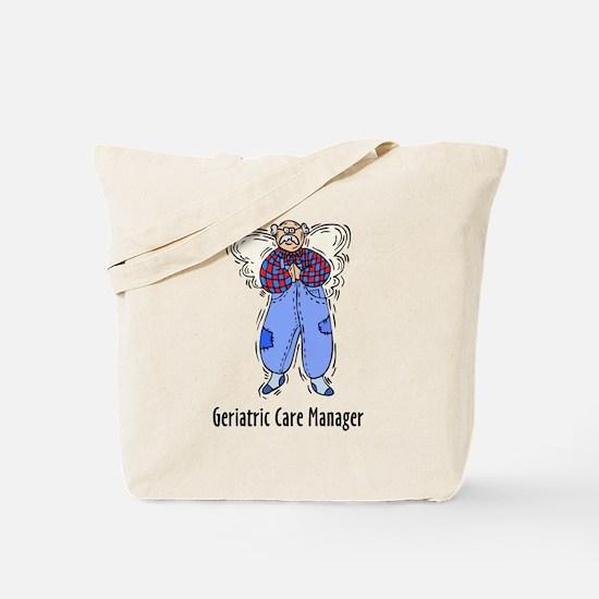 Geriatric CMM Angel Tote Bag