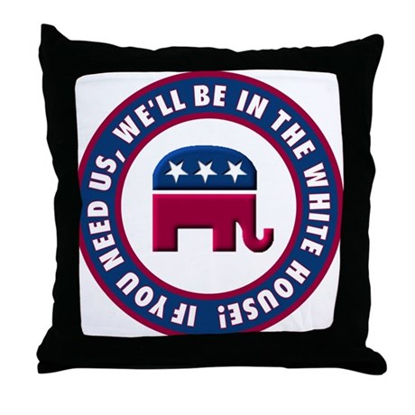 Republican Victory Throw Pillow