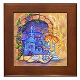 Hanukkah Framed Tiles