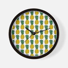 Unique Hawaiian fruit Wall Clock