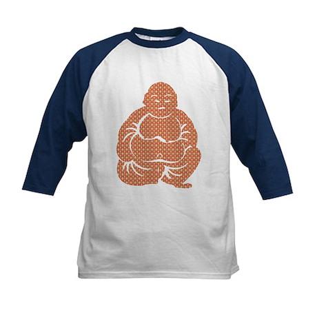 Retro Buddha Kids Baseball Jersey