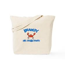 Bradley - Mr. Crabby Pants Tote Bag