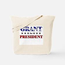 GRANT for president Tote Bag