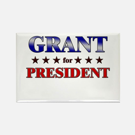 GRANT for president Rectangle Magnet