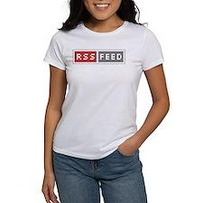 RSS Feed Web Badge Tee