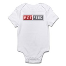 RSS Feed Web Badge Infant Bodysuit