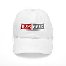 RSS Feed Web Badge Baseball Cap