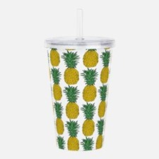 All Over Pineapple Pat Acrylic Double-wall Tumbler