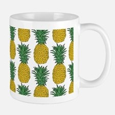 All Over Pineapple Pattern Mugs