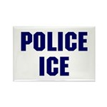 POLICE ICE Rectangle Magnet (10 pack)