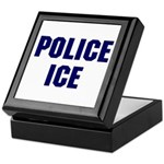 POLICE ICE Keepsake Box