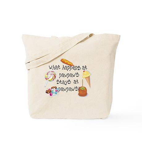 What Happens at PawPaw's... Tote Bag