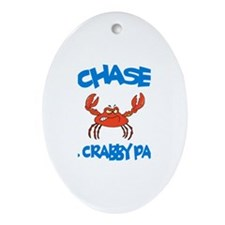 Chase - Mr. Crabby Pants Oval Ornament