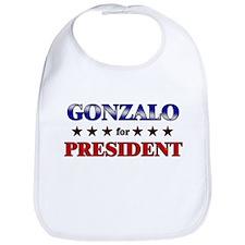 GONZALO for president Bib