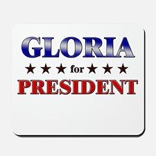 GLORIA for president Mousepad