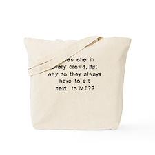 Funny Anti Social Quote Tote Bag