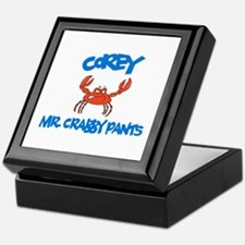 Corey - Mr. Crabby Pants Keepsake Box