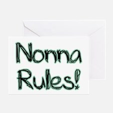Nonna Rules! Greeting Card