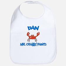 Dan - Mr. Crabby Pants Bib