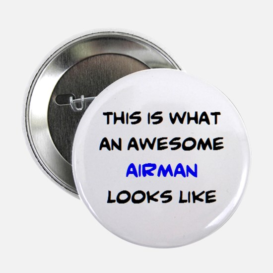 "awesome airman 2.25"" Button"
