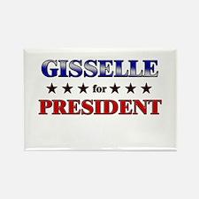 GISSELLE for president Rectangle Magnet