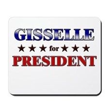 GISSELLE for president Mousepad