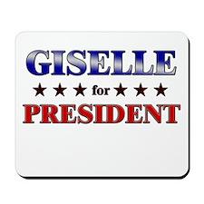 GISELLE for president Mousepad
