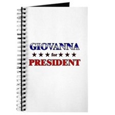 GIOVANNA for president Journal