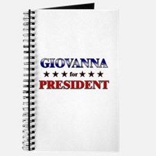 GIOVANNA for president Journal