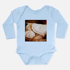 Organic Yarn Long Sleeve Infant Bodysuit