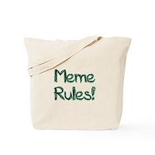 Meme Rules! Tote Bag