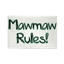MawMaw Rules! Rectangle Magnet (100 pack)