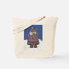 Santa's Budgie Tote Bag