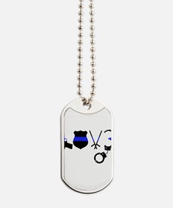 Cute Police wife Dog Tags