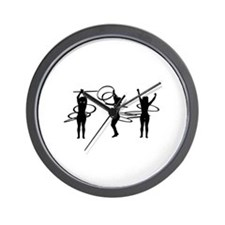 Hoops Wall Clock