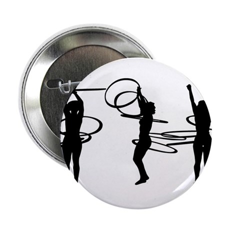"Hoops 2.25"" Button"